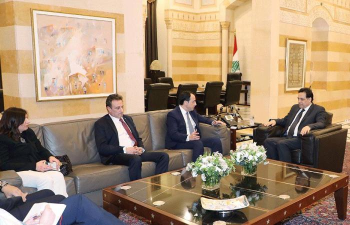 دياب عرض وسفير قبرص العلاقات الثنائية
