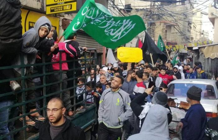 مسيرات في المخيمات الفلسطينية رفضًا لصفقة القرن