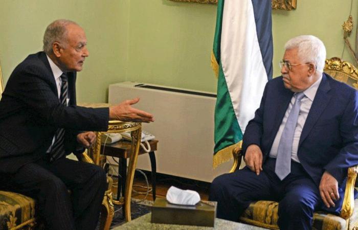 أبو الغيط استقبل عباس: لن نتخلى عن فلسطين