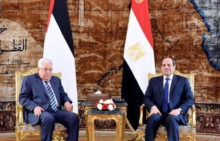 فلسطين | السيسي يؤكد للرئيس: موقفنا إقامة دولة فلسطينية مستقلة ذات سيادة وفقاً للشرعية الدولية