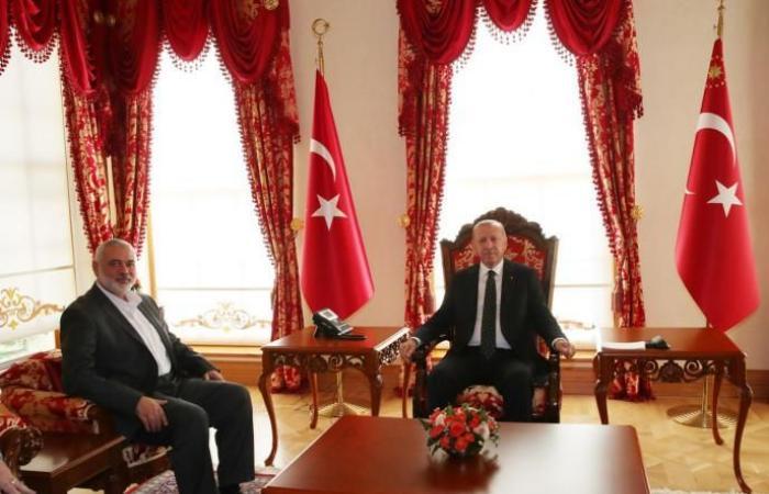 """فلسطين   أردوغان وهنية يؤكدان ضرورة إفشال """"صفقة القرن"""""""