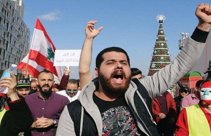 مسيرة من ساحة ساسين باتجاه ساحة الشهداء