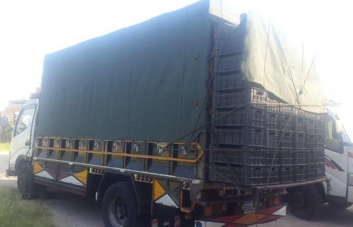 توقيف شاحنة محملة بالبندورة المهربة في العبدة