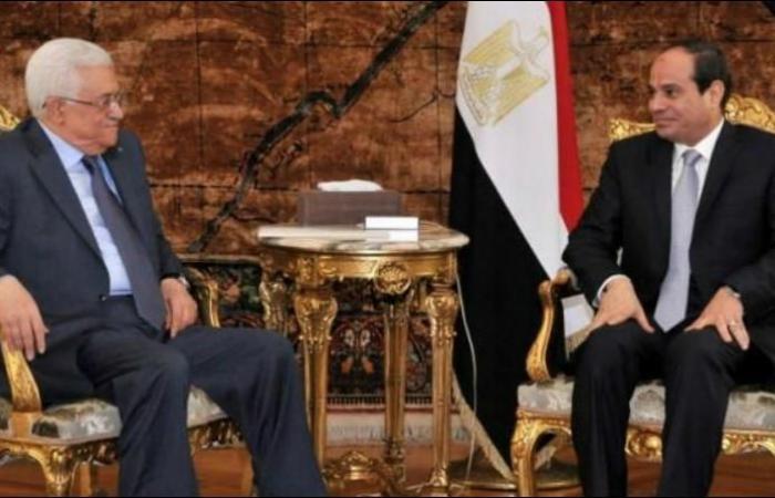 فلسطين   بدء لقاء القمة بين الرئيس ونظيره المصري