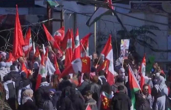 تظاهرة أمام السفارة الأميركية: سمير جعجع صهيوني (فيديو وصور)