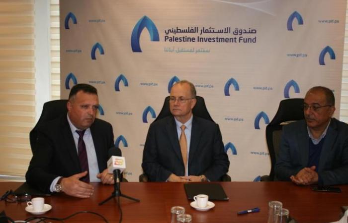 فلسطين   اتفاقية تعاون بين صندوق الاستثمار ونقابة الصحفيين