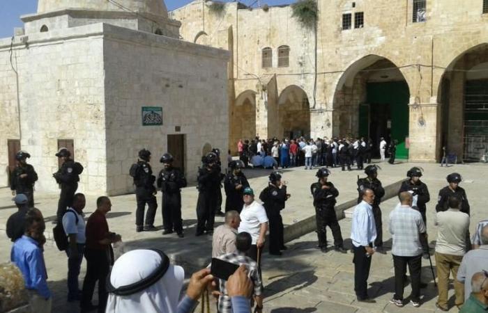 فلسطين | مستوطنون يقتحمون الأقصى والاحتلال يعتقل شابا ومرابطة