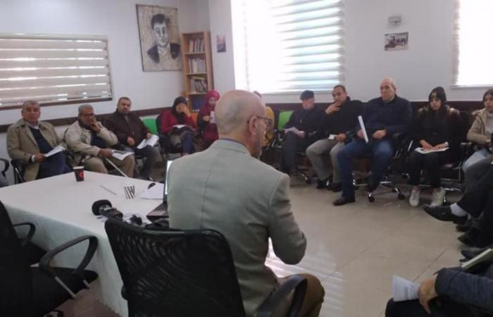 """فلسطين   """"بالكوم"""" تطلق بودكاست """"راديو صوت"""" حول مفاهيم حرية الرأي والتعبير"""