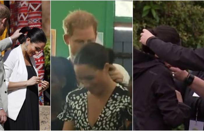 الأمير هاري يهتم بشعر ميغان ماركل على طريقته الخاصة.. شاهدوا!