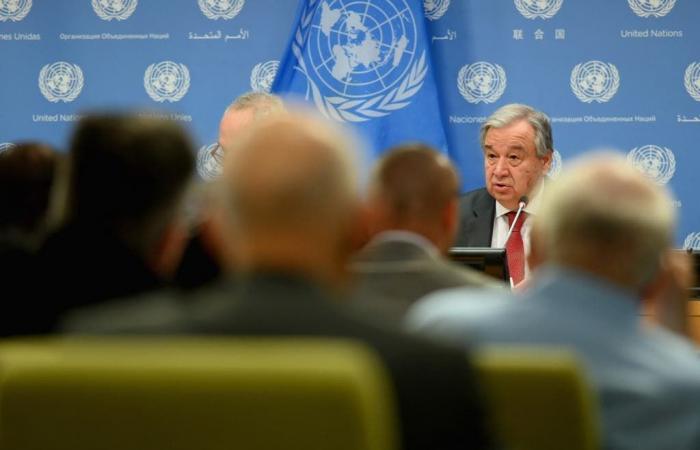 غوتيريس: الأزمة الليبية معقدة بسبب تصدير الأسلحة
