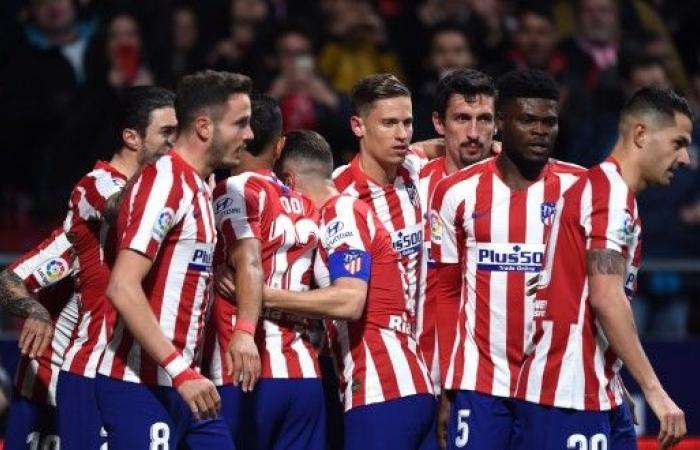 أتلتيكو مدريد يستعيد نغمة الإنتصارات