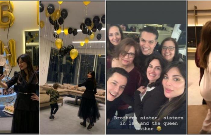 نادين نجيم تنشر صورا وفيديو لعائلتها لأول مرة والجمهور يتفاعل!