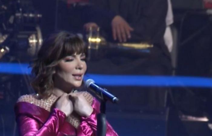 نتوءات غريبة تظهر على وجه أصالة في حفلها الأخير بالكويت!