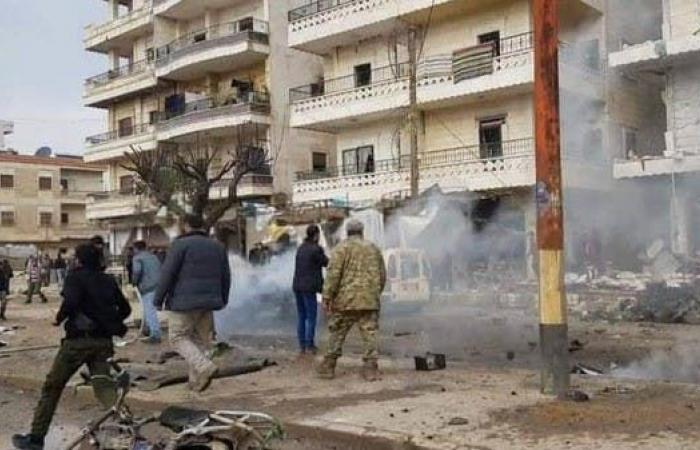 سوريا | مقتل 8 مدنيين في انفجار شاحنة في عفرين بسوريا