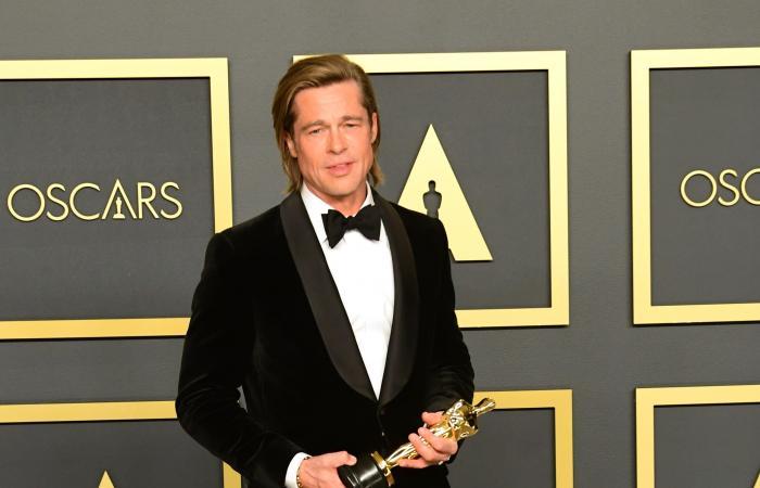 براد بيت يفوز بجائزة أوسكار أفضل ممثل مساعد