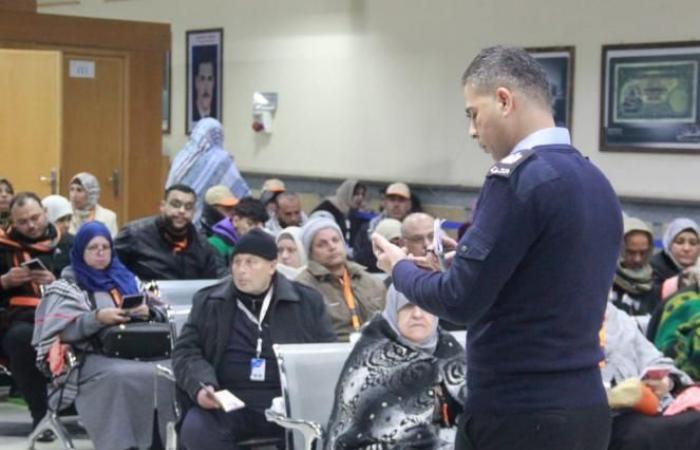 فلسطين | مغادرة الفوج الخامس من معتمري قطاع غزة