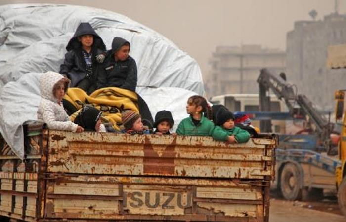 سوريا | 700 ألف نازح من شمال غرب سوريا بسبب التصعيد العسكري