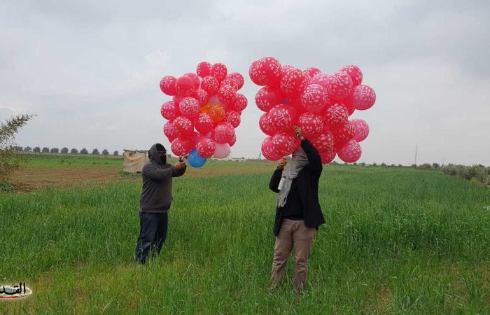 فلسطين | مصدر لـ القدس: قرار بوقف إطلاق البالونات الحارقة والمتفجرة من غزة