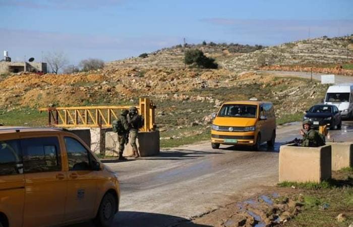 فلسطين | إجراءات مشددة بحق مواطني تقوع