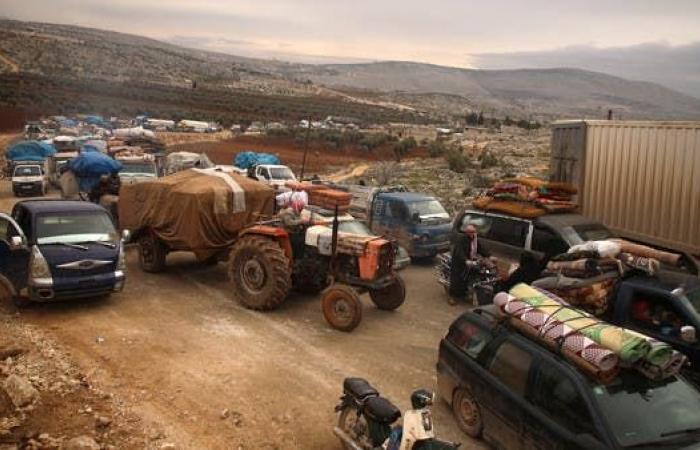 سوريا | بـ24 ساعة.. أكثر من 70 ألف مدني نزحوا من ريف حلب الغربي
