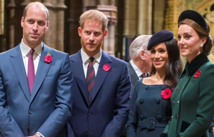 الأمير ويليام وكيت ميدلتون يحتفلان بعيد الحب.. ماذا عن هاري وميغان؟