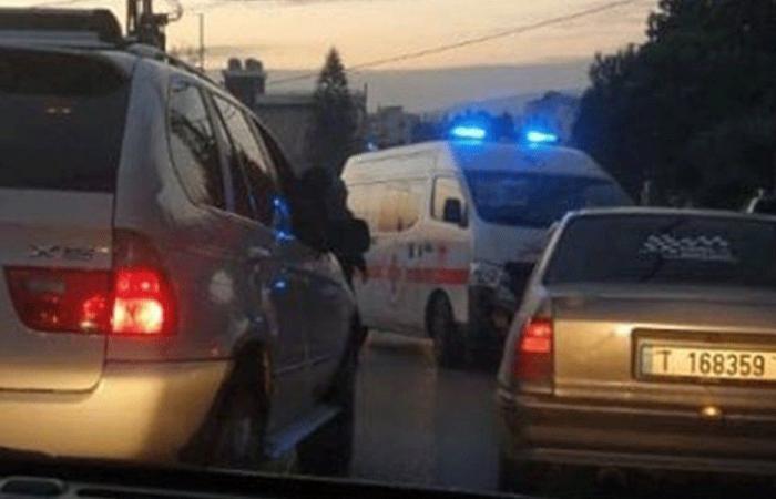 جريحان بحادث سير على طريق الضنية-طرابلس