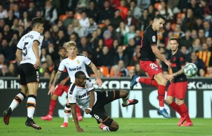 أتلتيكو مدريد يسقط في فخ التعادل أمام فالنسيا