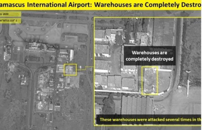 إيران | بالصور.. تدمير مقرات ومستودعات للحرس الثوري في دمشق