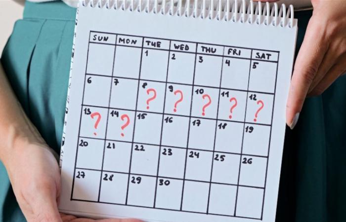 تأخر الدورة الشهرية.. متى يشكل قلقا؟
