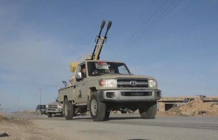 بالفيديو.. الجيش الليبي يحرك قواته نحو الزاوية