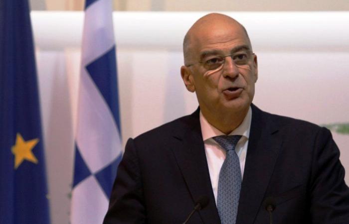 وزير خارجية اليونان في بيروت الاربعاء