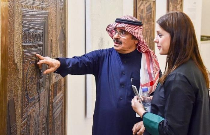"""السعودية   الثقافة السعودية تدشن معرض """"بعد حين.. الكعبي وتلاميذه"""""""