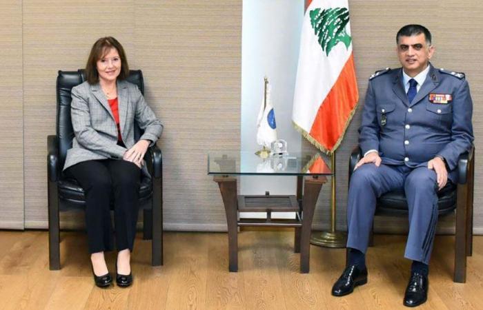 عثمان عرض الأوضاع مع السفيرة الأميركية