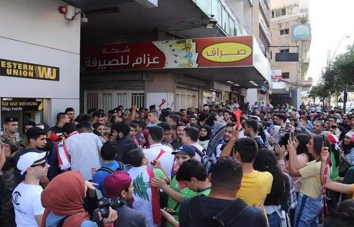 """صيدا: مسيرة غضب وعودة الحرارة بين """"الجماعة"""" و""""التنظيم"""""""