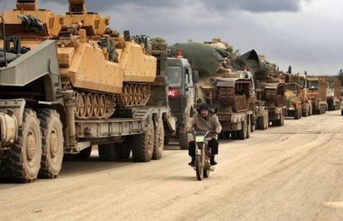 سوريا | روسيا: تركيا أرسلت تعزيزات عسكرية هائلة إلى إدلب
