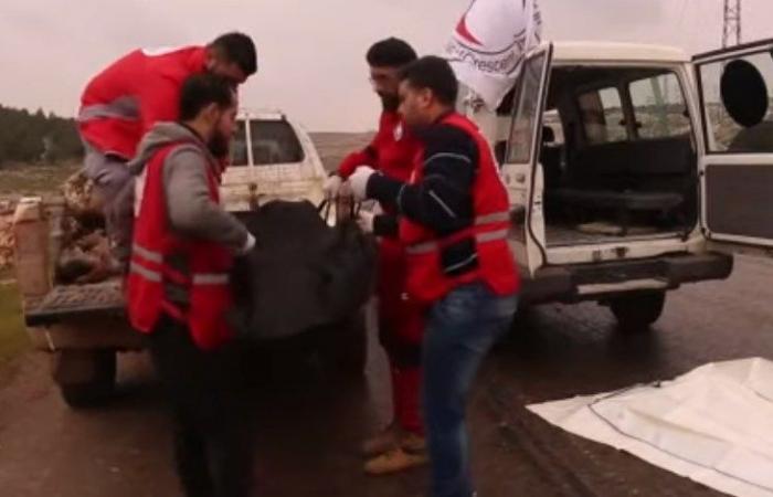 """سوريا   """"تبادل أسرى"""" بين النظام و المعارضة .. عنصران مقابل """"جثة من الحرس الثوري""""! (فيديو)"""