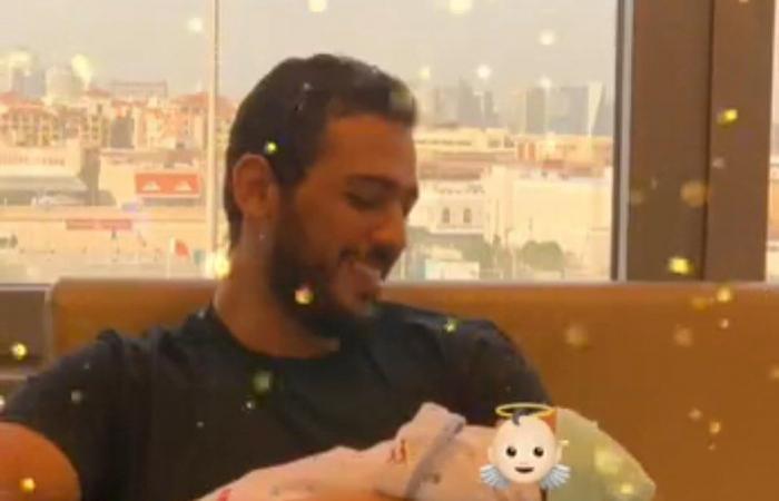 روان بن حسين ترزق بمولودتها الأولى.. وتكشف عن هوية زوجها!