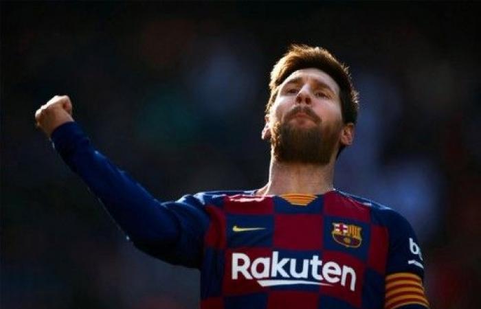 ميسي يمطرُ شباك إيبار بالأهداف ويقود برشلونة للفوز بخماسية
