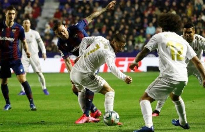 ريال مدريد يسقط أمام ليفانتي ويفقد صدارة الليغا قبل الكلاسيكو