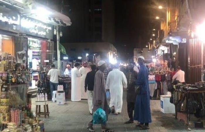 """السعودية   جدة.. شارع """"قابل"""" قطعة فنية رسمها التنوع الاقتصادي"""