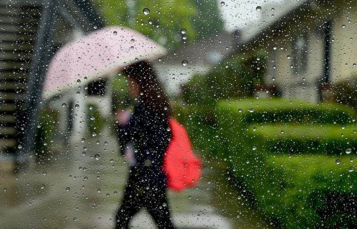انخفاض طفيف بالحرارة وأمطار خفيفة
