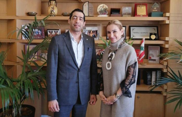 حنكش ناقش وسفيرة سويسرا سبل التعاون
