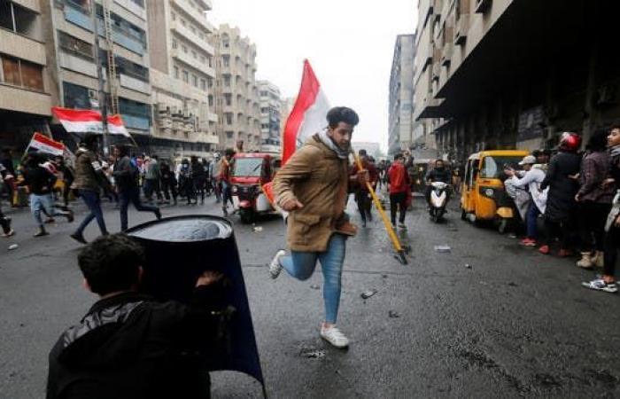 العراق | 3 قتلى وعشرات الجرحى بين المتظاهرين في بغداد
