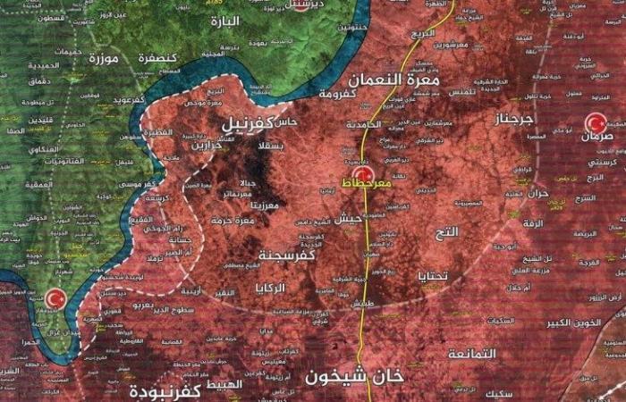 سوريا | مع اقتراب مهلة أردوغان من الانتهاء.. ميليشيات الأسد تواصل تقدمها في إدلب وتسيطر على 37 منطقة خلال 3 أيام (فيديو)