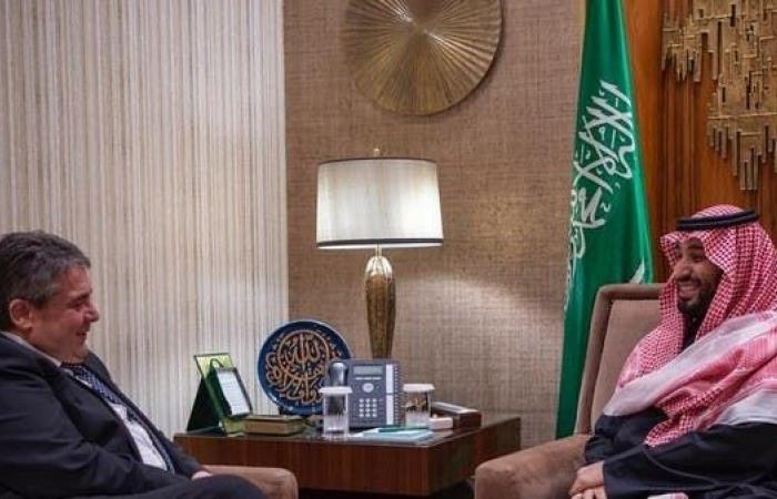 السعودية | ولي العهد السعودي يلتقي وزير الخارجية الألماني السابق