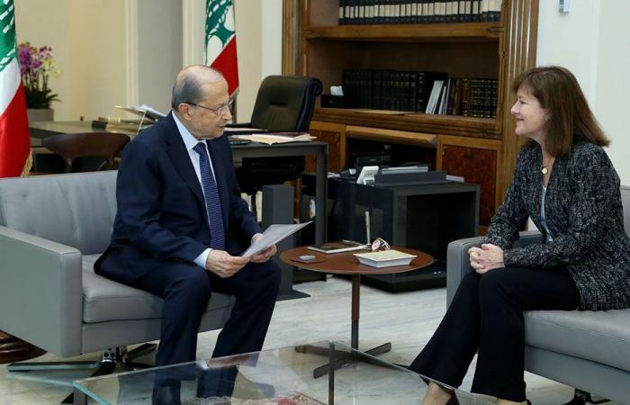 السفيرة الأميركية من بعبدا مودعة: اللبنانيون على حق!