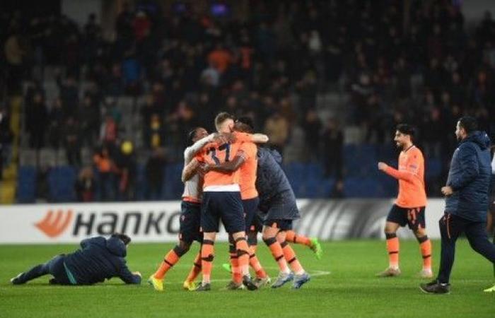 باشاك شهير يقصي سبورتينغ وروما يجو من مفاجآت الدوري الأوروبي