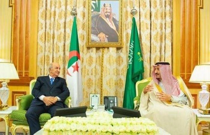 السعودية   خادم الحرمين يبحث المستجدات الدولية مع رئيس الجزائر