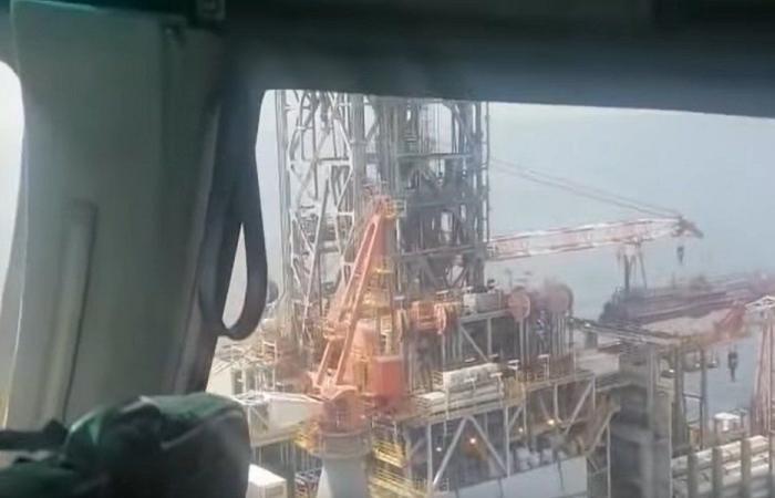 بالفيديو- جولة على الباخرة التي ستتولى حفر البئر النفطي