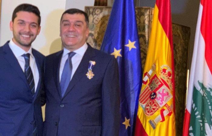 وسام الاستحقاق الوطني الإسباني لمحمد الحوت